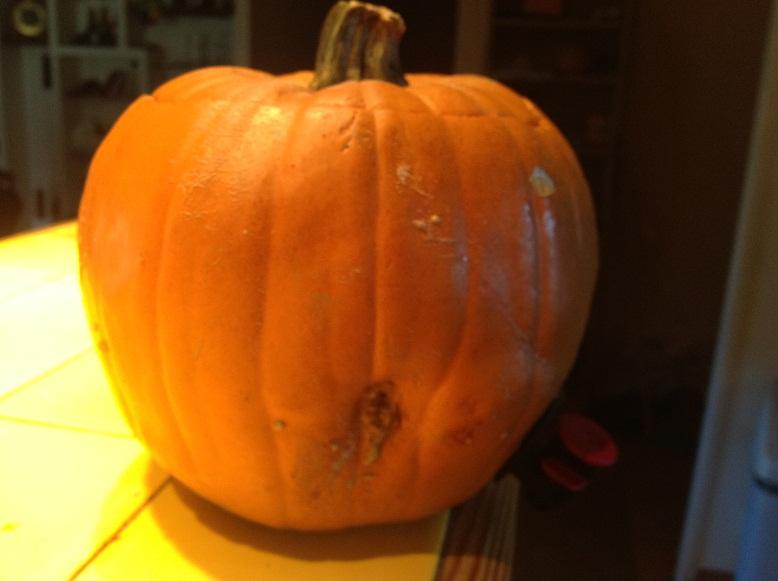 Un jour j 39 ai fabriqu une tireuse bi re citrouille - Citrouille halloween decoration ...