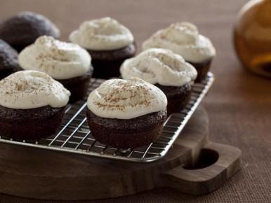 Cupcakes au chocolat houblonné