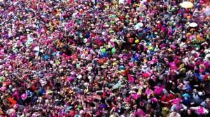 Foule au Carnaval de Dunkerque 2013