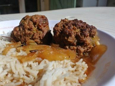 Recette des boulets à la liégeoise «sauce lapin»