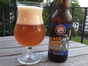 Bières italiennes : Space Man IPA (Brewfist)