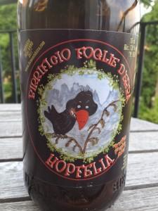 Bières italiennes : Hopfelia (Foglie d'Erba)