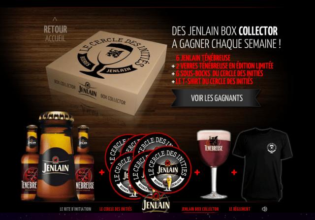 Jenlain Box Collector