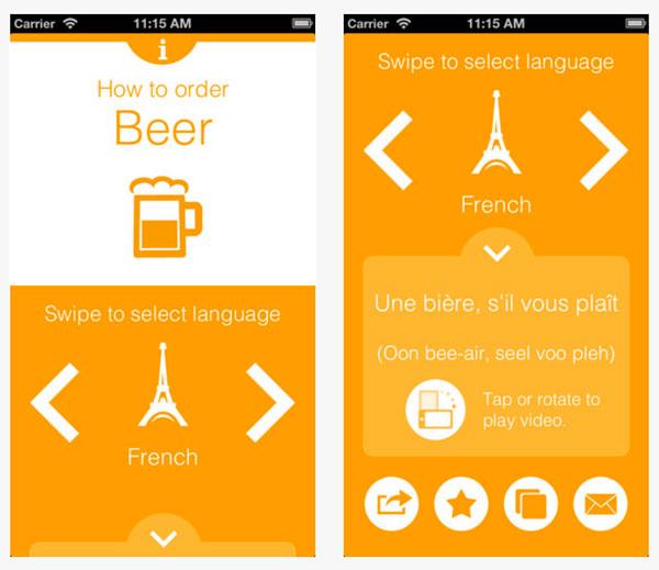 L'application Pivo, savoir commander une bière en 59 langues