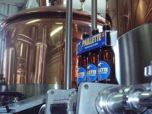 A Deauville, on boit de la Paillette, la bière Normande