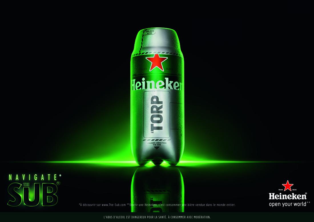 The sub la nouvelle machine bi re futuriste d 39 heineken - Machine a biere heineken ...