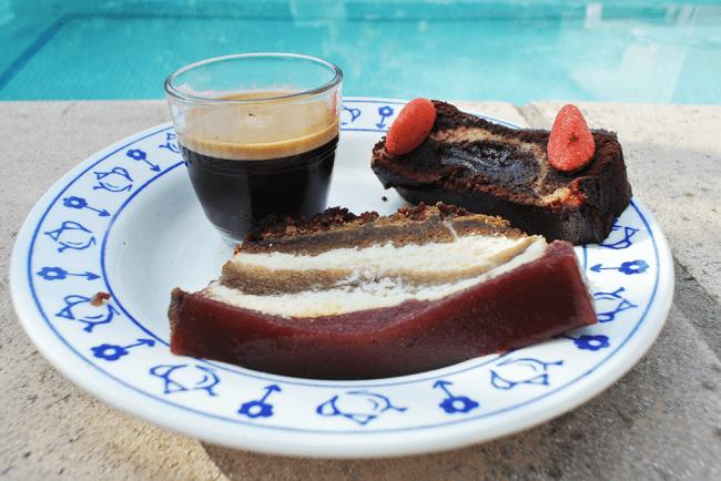 Cheesecake fraise spéculoos chocolat