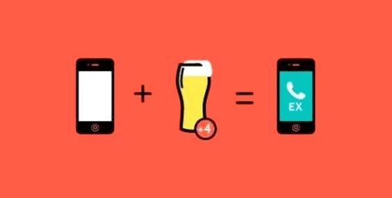 Les effets de la bière sur ton smartphone !