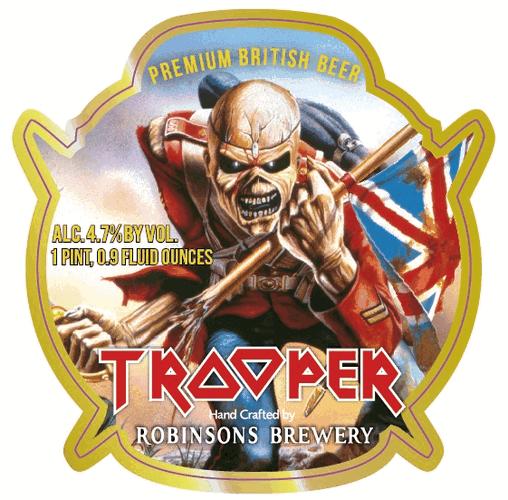 Iron Maiden Trooper, la bière Heavy Metal d'Iron Maiden