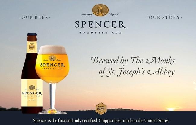 La bière trappiste Américaine Spencer déjà disponible à la vente
