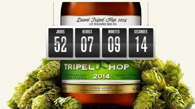 La Duvel Tripel Hop 2014 débarque le 3 Mars 2014