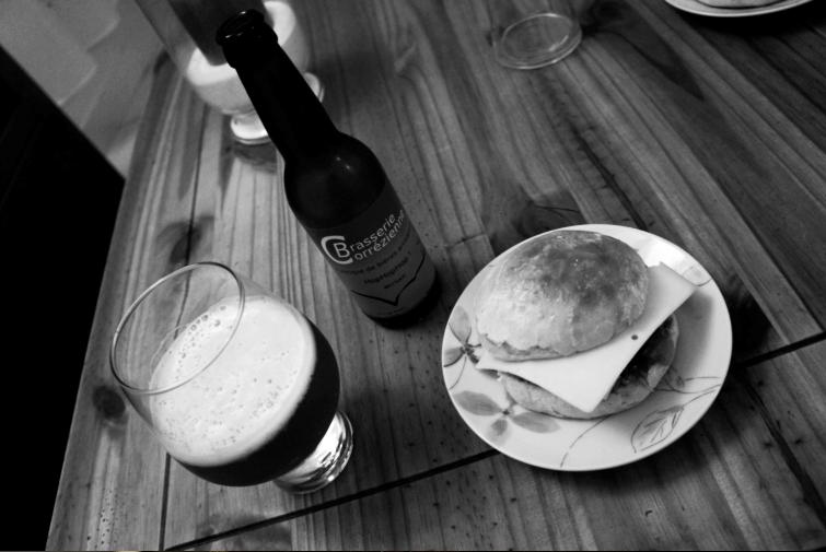 hamburger-biere