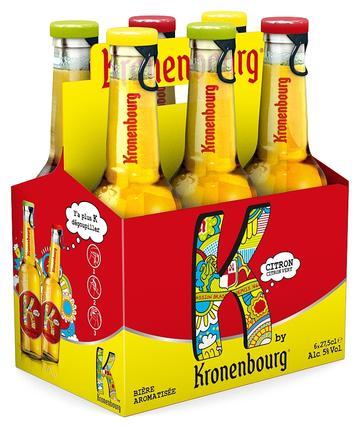 Kronenbourg K, la nouvelle «bière» aromatisée