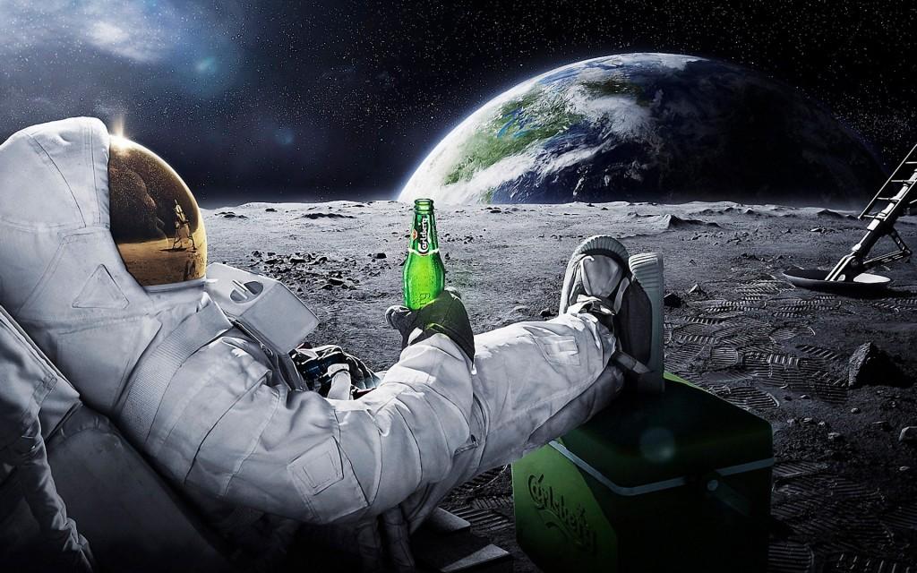 Carlsberg moon merch