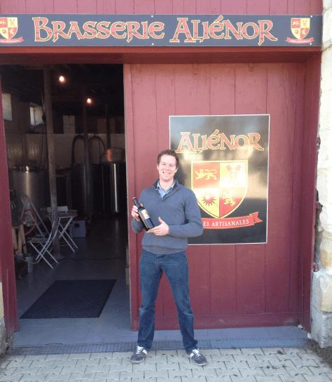 Brasserie Aliénor – L'histoire d'un Belge qui s'installe en Gironde