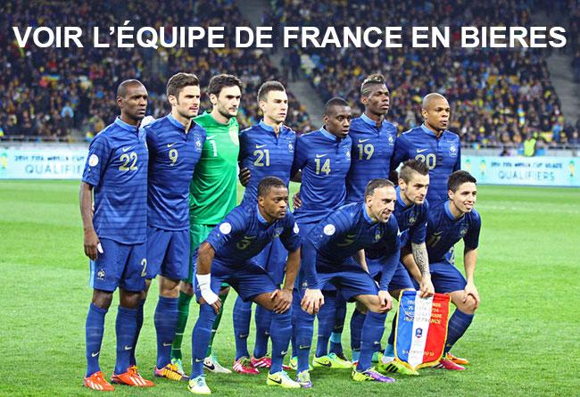L'Équipe de France en bière !