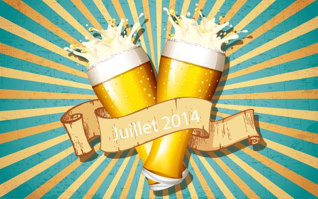 Top 10 de l'actualité bière de Juillet 2014