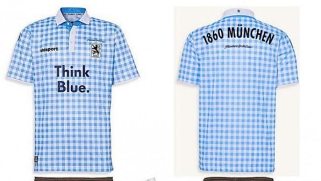 Munich 1860 arbore un maillot de la fête de la bière