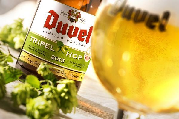 Le houblon 2015 de la Duvel Tripel Hop révélé