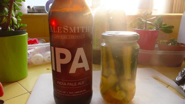 Cornichons à la bière (India Pale Ale)