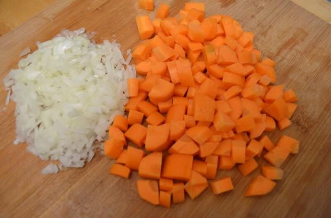 tailler les légumes en brunoise