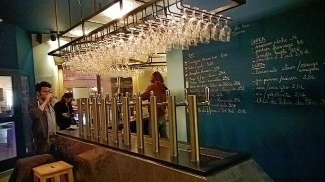 Dynamo, bar de soif à Bruxelles