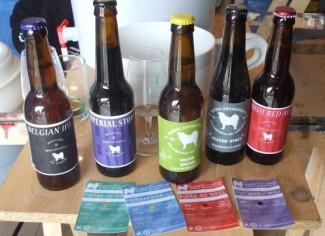 Des bières de tous les styles.