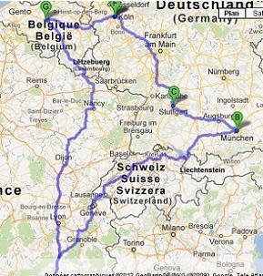 J-9 : Voyage Allemagne + Belgique