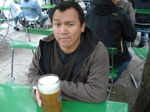 boire une bière