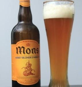 La Mons Blonde, une bière de style belge... au Québec