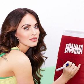 Megan Fox sublime pour la bière brésilienne Brahma