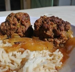 """Recette des boulets à la liégeoise """"sauce lapin"""""""