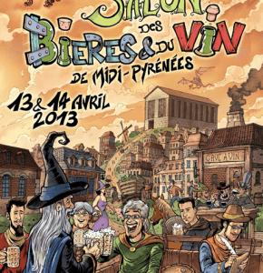 Salon des bières et du vin le 13 et 14 Avril 2013 à Graulhet