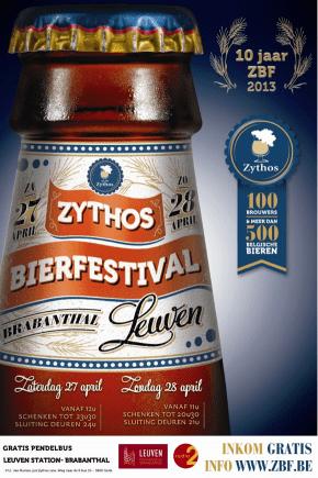 Reportage au Zythos Bier Festival 2013 à Louvain