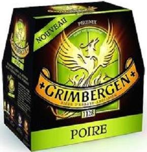 Grimbergen ose une bière à la poire
