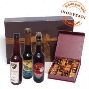 De la bière et du chocolat pour Papou