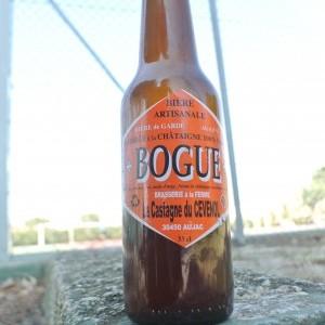 Bogue, une bière à la châtaigne des Cévennes