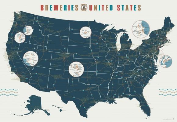 126 années de brasseries aux États-Unis