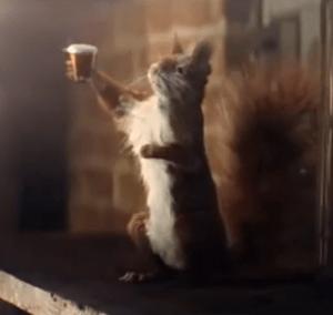 Le maître-brasseur de la La Smithwick's est un écureuil !