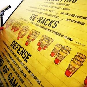 Les vraies règles du Beer Pong