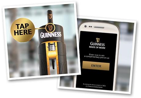 Gagnez une Guinness grâce à votre smartphone !