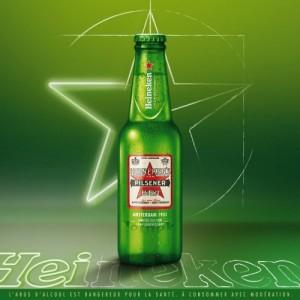 Nouvelle bouteille pour les 140 ans d'Heineken