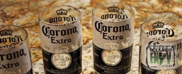 Fabriquez de jolis verres avec des bouteilles de bi re - Comment couper une bouteille en verre ...