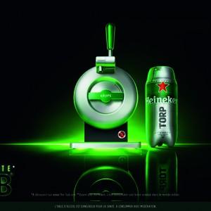 The Sub®, la nouvelle machine à bière futuriste d'Heineken