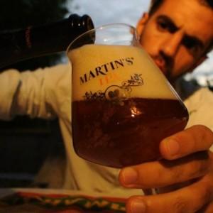 Gagnez la cosmopolite Martin's IPA et son verre Teku