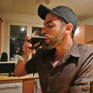 Pour la petite histoire... dégustation de ma 1ère bière maison !