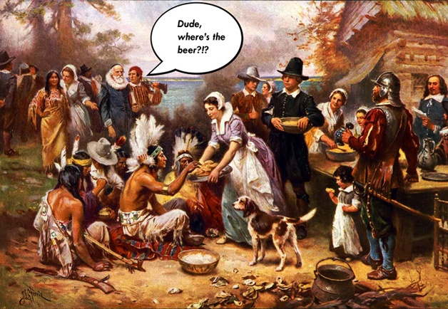 Happy Thanksgiving! Et un badge Untappd!