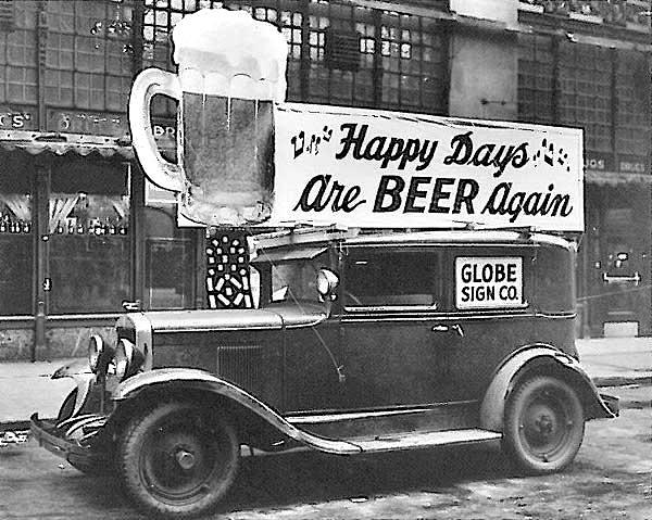 80ème anniversaire de la fin de la prohibition