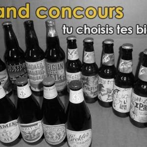 Grand concours : tu choisis les bières artisanales que tu gagnes !
