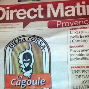 La Cagoule, une nouvelle bière Corse !